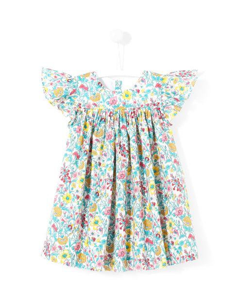 پیراهن نخی نوزادی دخترانه Layette - جاکادی - چند رنگ - 1