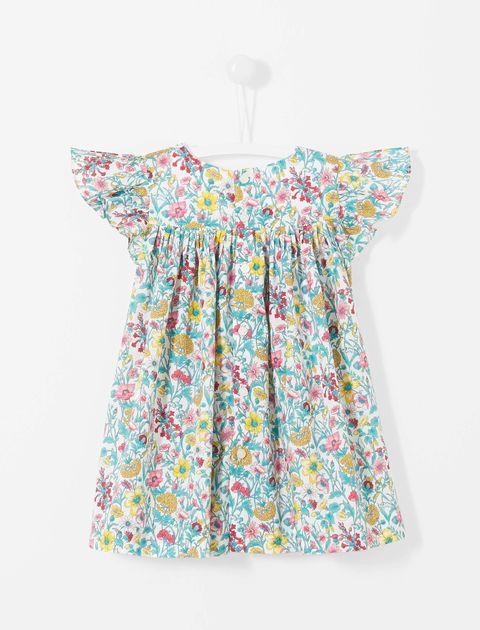 پیراهن نخی نوزادی دخترانه Layette - جاکادی - چند رنگ - 2