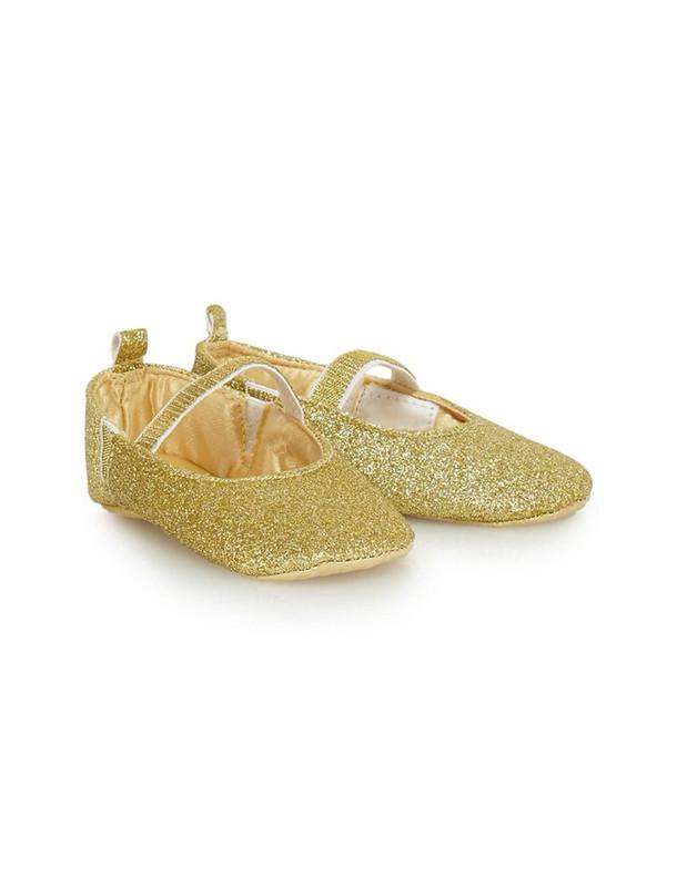 کفش بندکشی نوزادی دخترانه - بلوزو