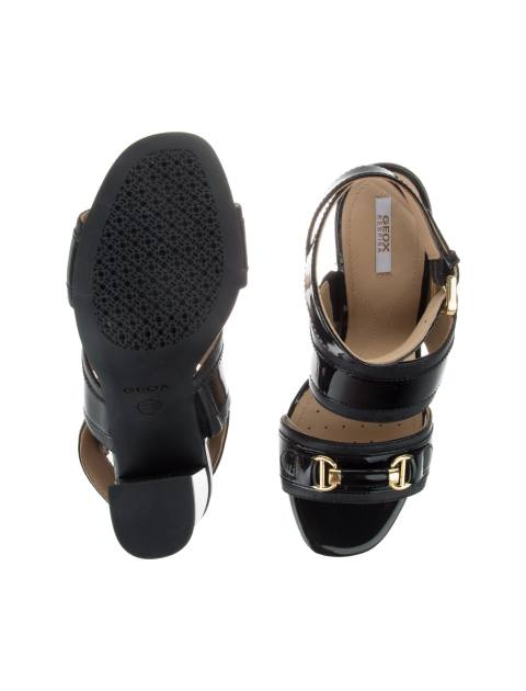 کفش پاشنه بلند چرم  زنانه AUDALIES - جی اوکس - مشکي - 1
