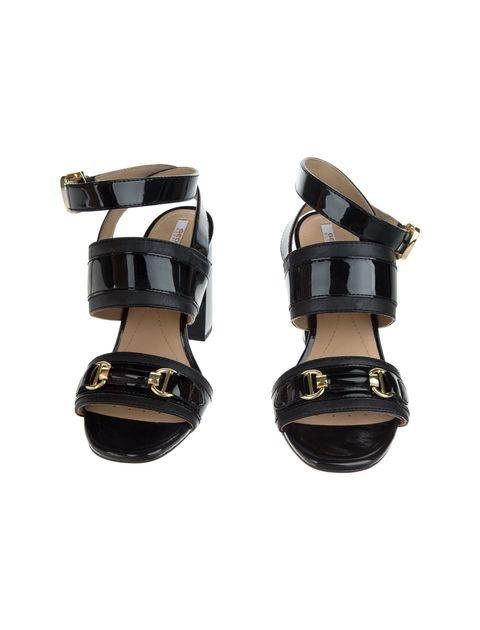 کفش پاشنه بلند چرم  زنانه AUDALIES - جی اوکس - مشکي - 3