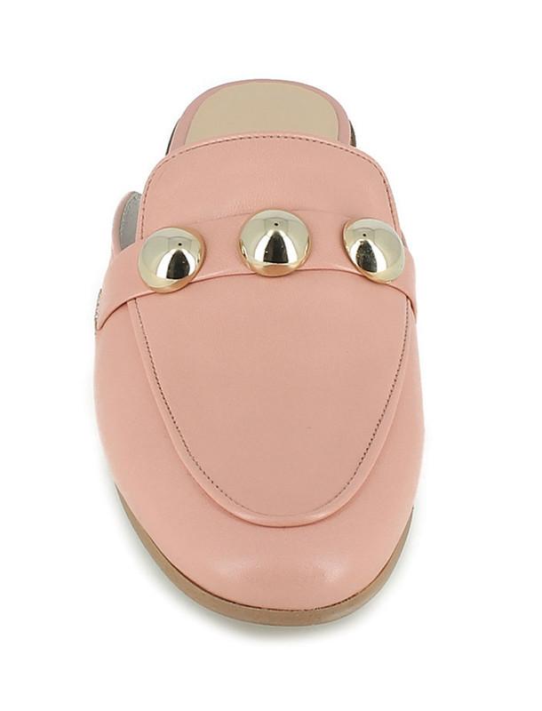 کفش چرم تخت زنانه - ژوناک