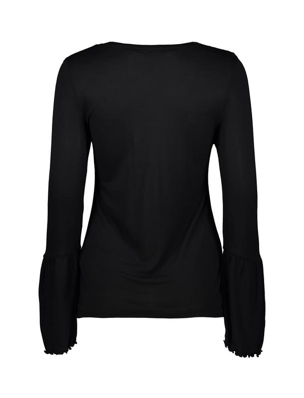 تی شرت ویسکوز یقه هفت زنانه - اونلی