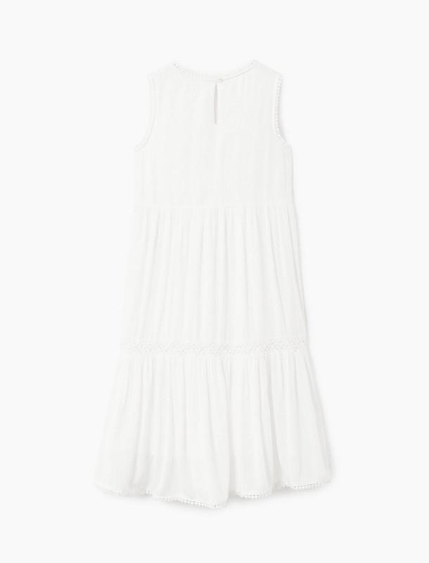 پیراهن ویسکوز دخترانه - مانگو