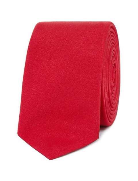 کراوات ساده مردانه - رد هرینگ