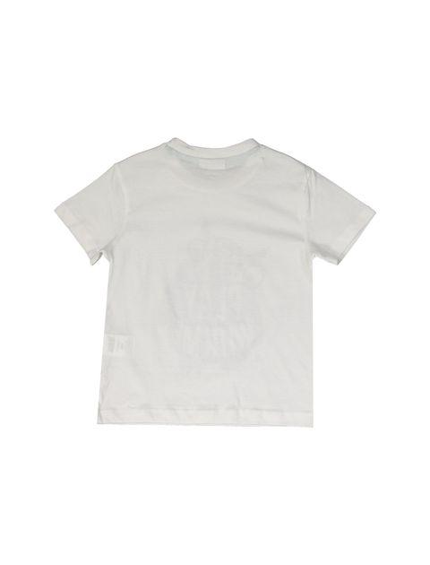 تی شرت و شلوارک نخی پسرانه بسته دو عددی - بلوکیدز - سفيد و سبزآبي - 9