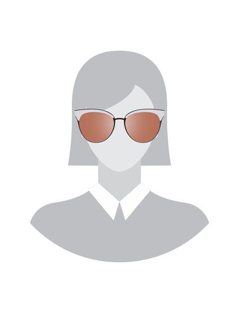 عینک آفتابی پنتوس زنانه - سفيد - 6