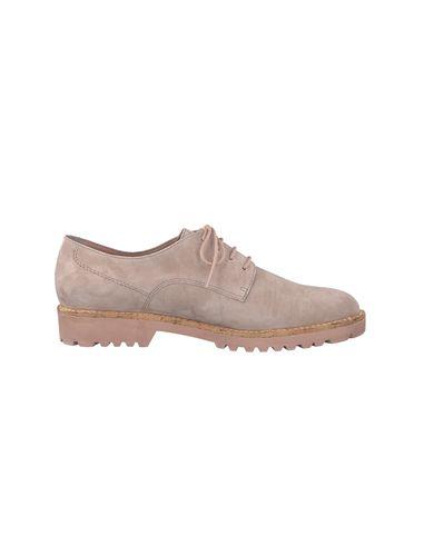 کفش چرم بندی زنانه