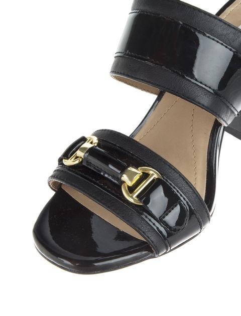 کفش پاشنه بلند چرم  زنانه AUDALIES - جی اوکس - مشکي - 5