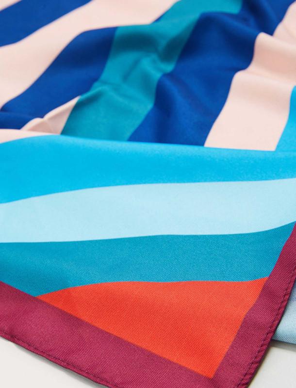 روسری طرح دار زنانه - ویولتا بای مانگو تک سایز