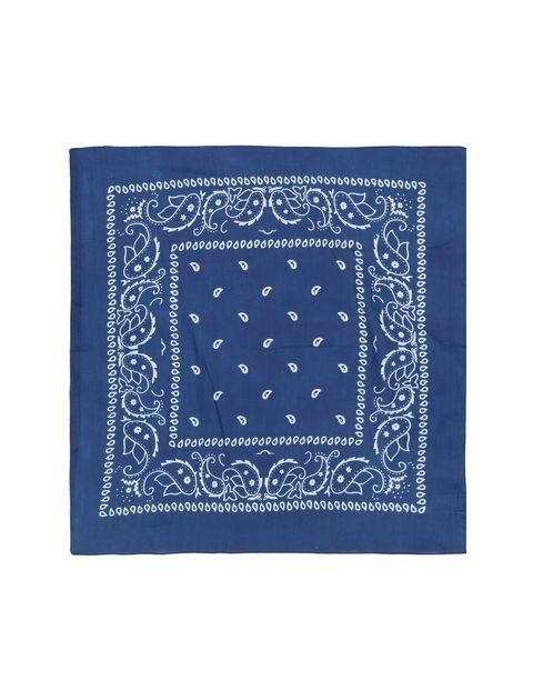 روسری نخی طرح دار دخترانه - بلوکیدز - آبي - 2