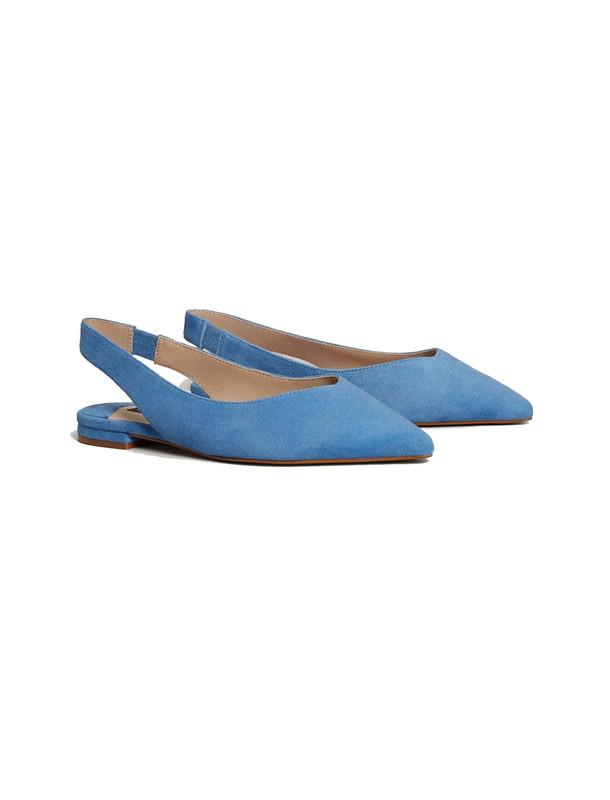 کفش چرم تخت زنانه - ویولتا بای مانگو