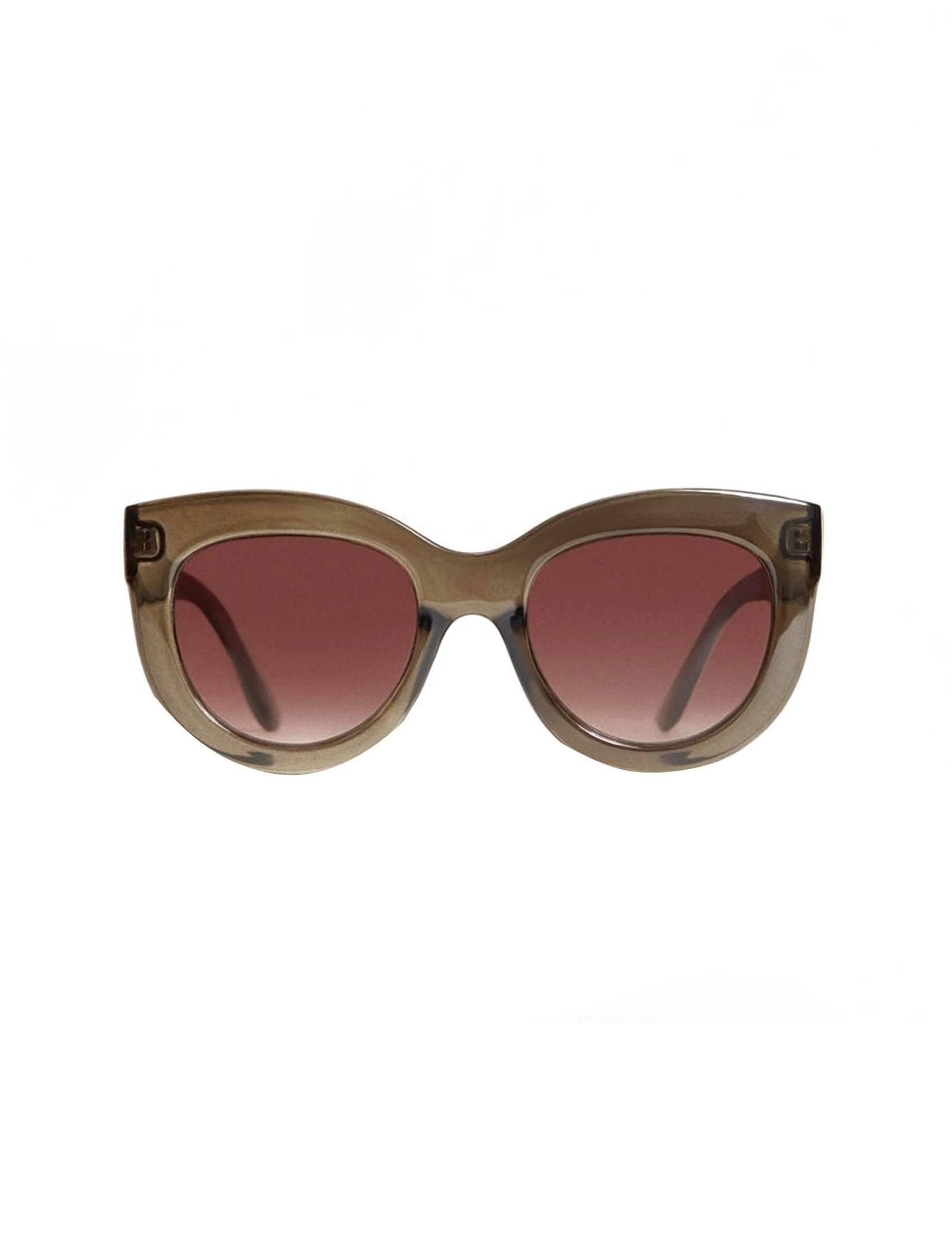عینک آفتابی گربه ای زنانه - ویولتا بای مانگو - زيتوني - 1