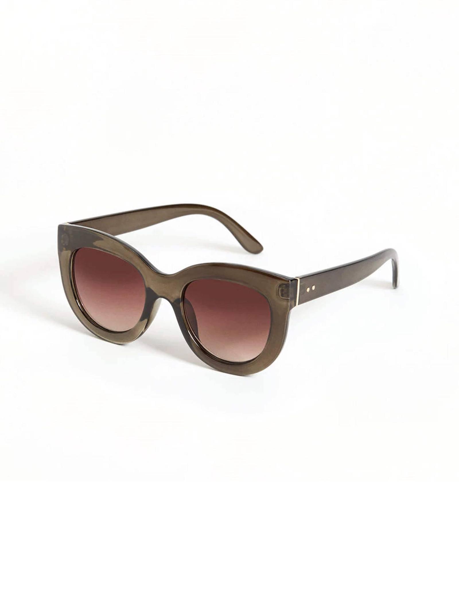 عینک آفتابی گربه ای زنانه - ویولتا بای مانگو - زيتوني - 2