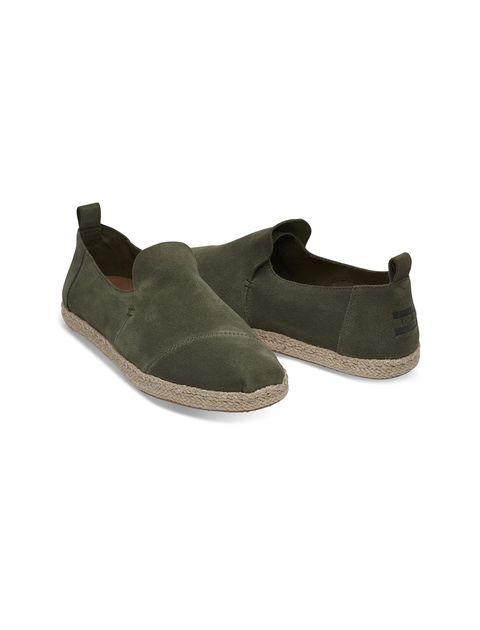 کفش راحتی جیر مردانه Deconstructed - زيتوني - 2