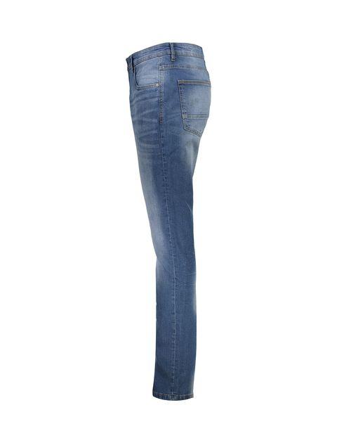 شلوار جین جذب مردانه - آبي - 3