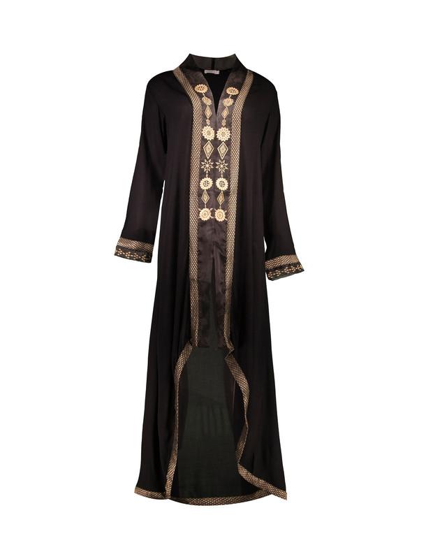رویه لباس ویسکوز طرح دار زنانه - آب