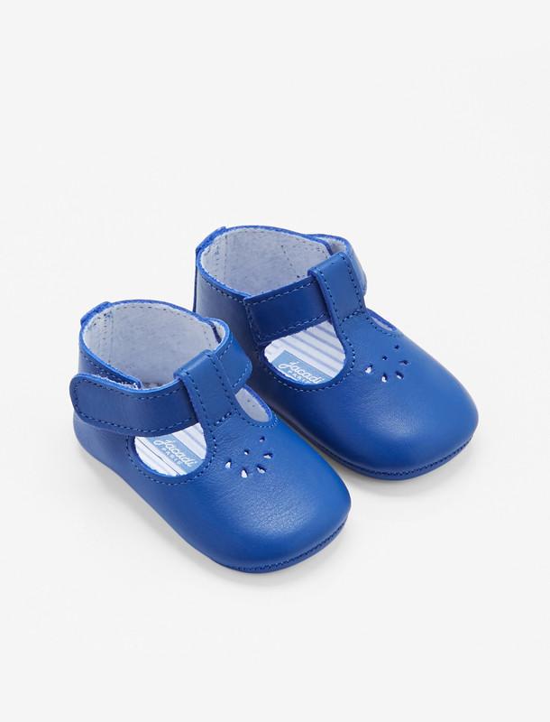 کفش چرم چسبی نوزادی پسرانه Mais - جاکادی