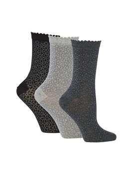 جوراب ساق متوسط زنانه بسته 3 عددی