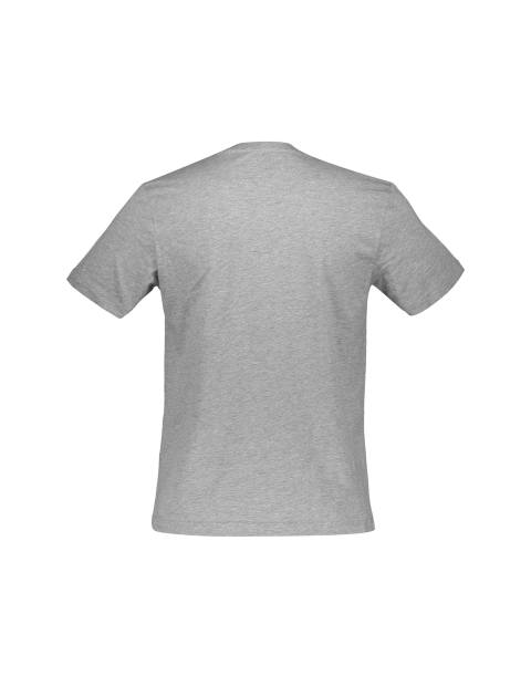 تی شرت نخی یقه هفت مردانه - رد هرینگ - طوسي ملانژ - 2