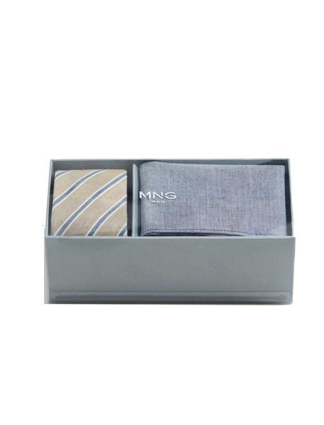 کراوات طرح دار مردانه - مانگو تک سایز