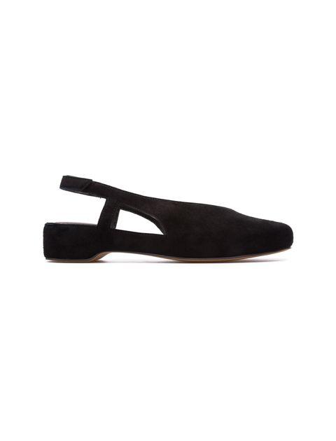 کفش نبوک تخت زنانه Lucy - کمپر - مشکي - 1