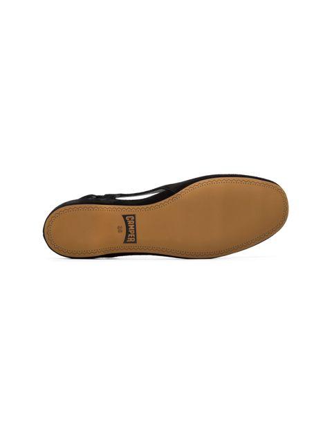 کفش نبوک تخت زنانه Lucy - کمپر - مشکي - 2