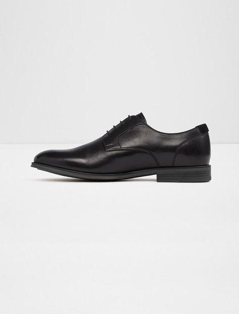 کفش چرم اداری مردانه - مشکي - 2