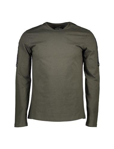 تی شرت نخی آستین بلند مردانه