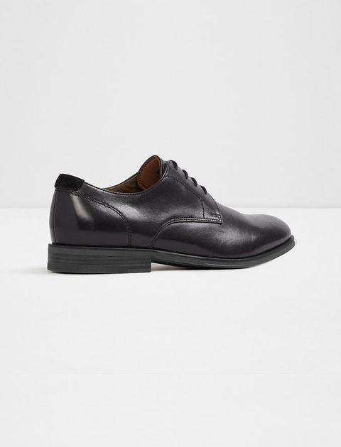 کفش چرم اداری مردانه - مشکي - 3