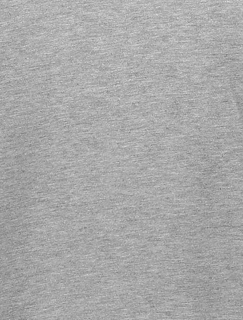 تی شرت نخی یقه هفت مردانه - رد هرینگ - طوسي ملانژ - 5