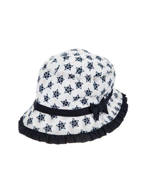 کلاه نخی نوزادی دخترانه - چند رنگ - 1