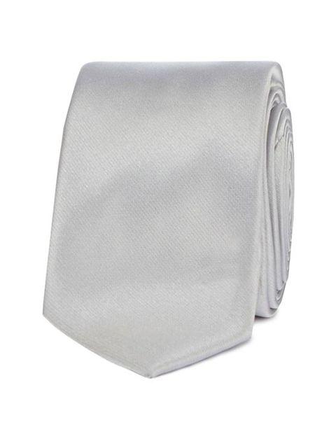 کراوات ساده مردانه - رد هرینگ - نقره اي - 3