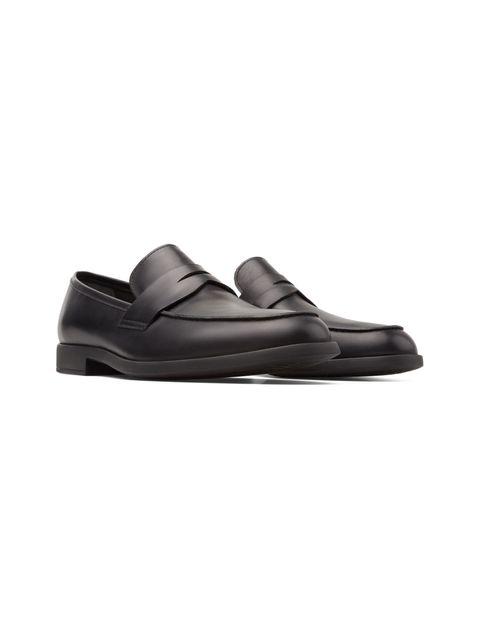 کفش رسمی چرم مردانه - مشکي - 3