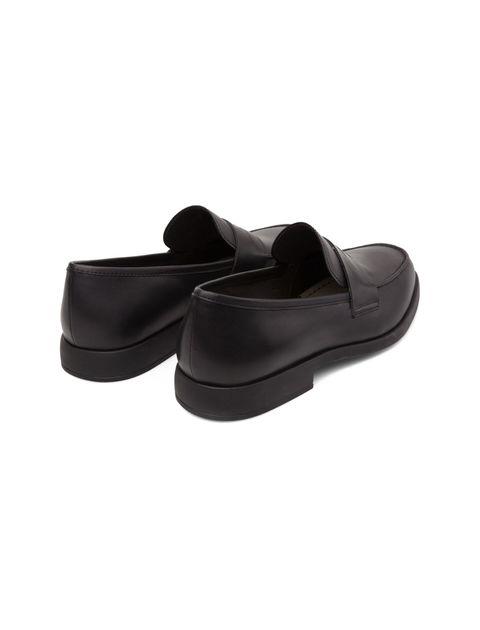 کفش رسمی چرم مردانه - مشکي - 4