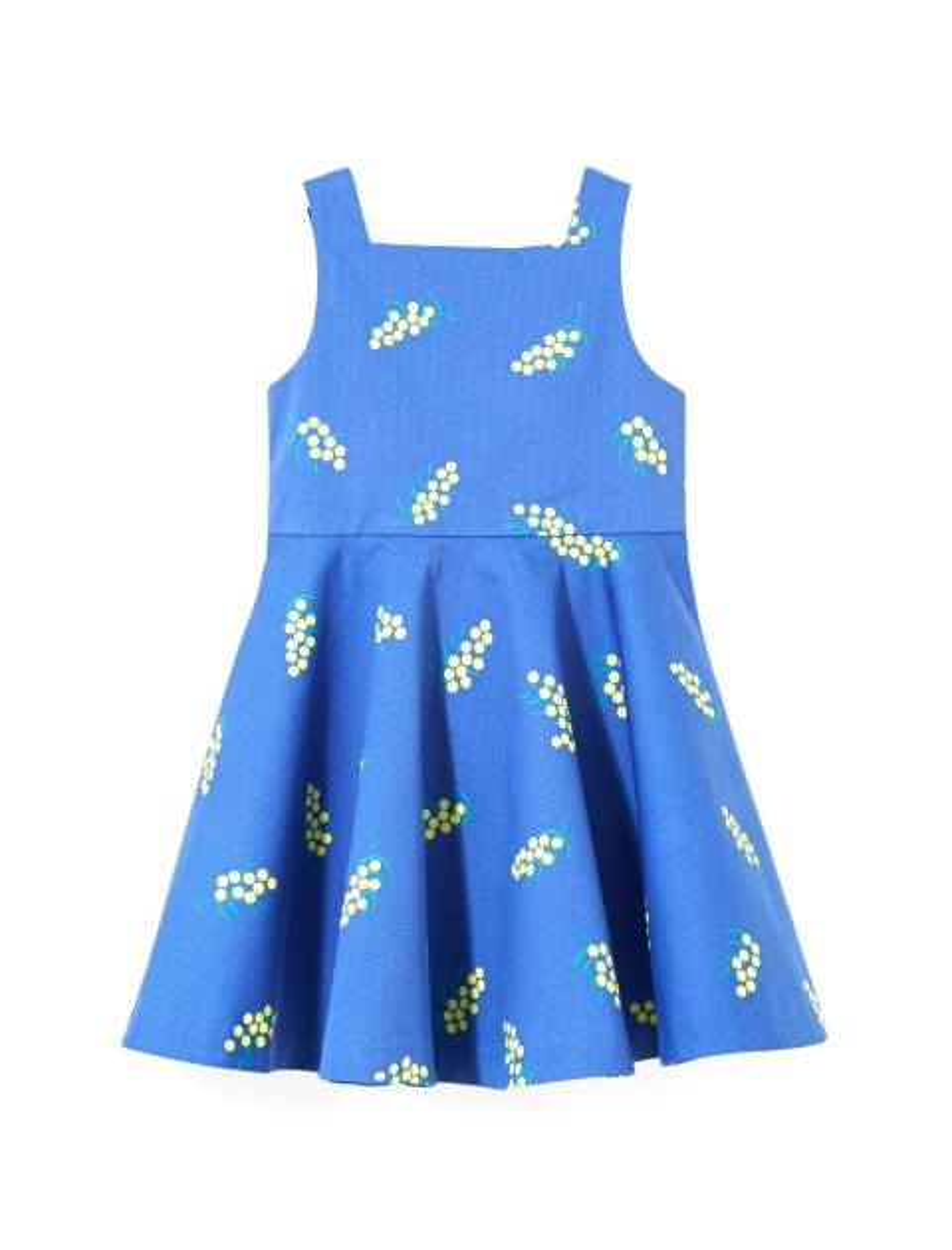 پیراهن نخی روزمره دخترانه Lariac - جاکادی - آبي  - 1