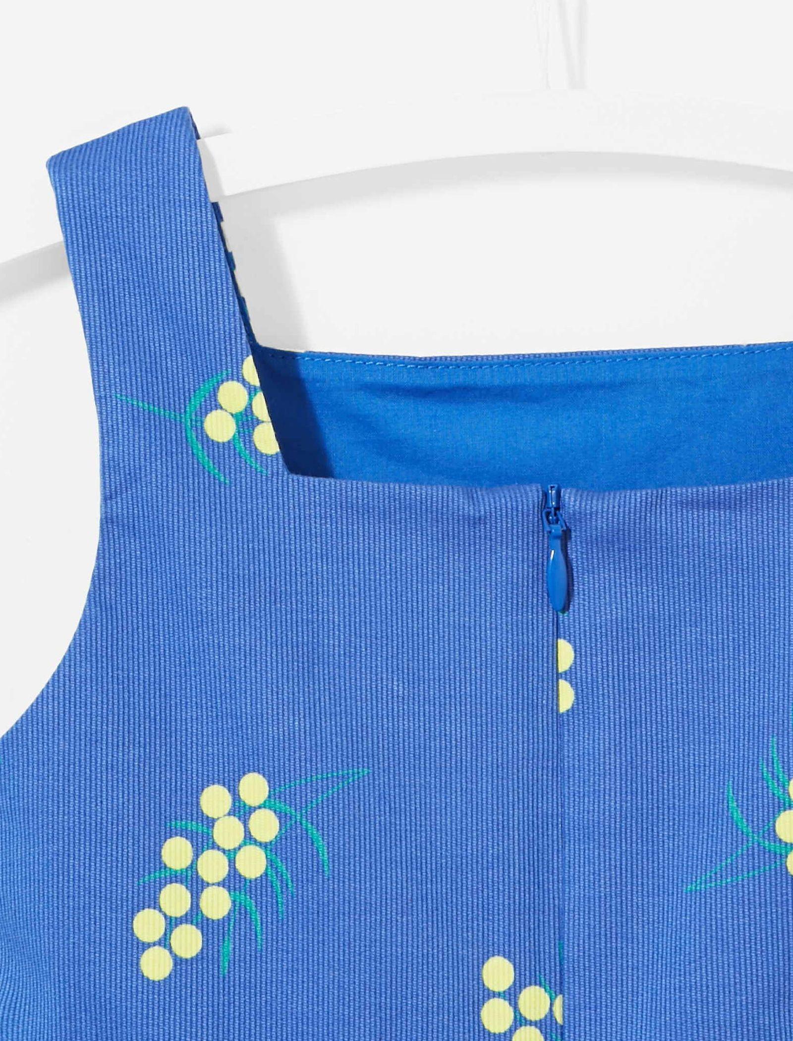 پیراهن نخی روزمره دخترانه Lariac - جاکادی - آبي  - 3