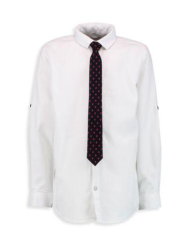 پیراهن نخی یقه برگردان پسرانه - ال سی وایکیکی