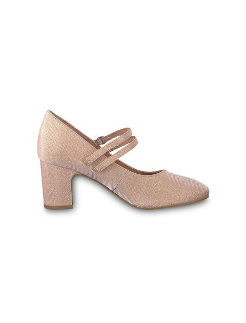 کفش پاشنه بلند زنانه MATTEO - صورتي - 1