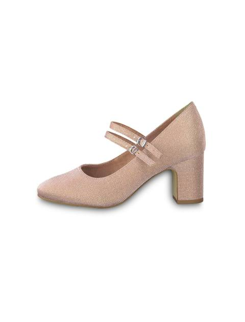 کفش پاشنه بلند زنانه MATTEO - صورتي - 3