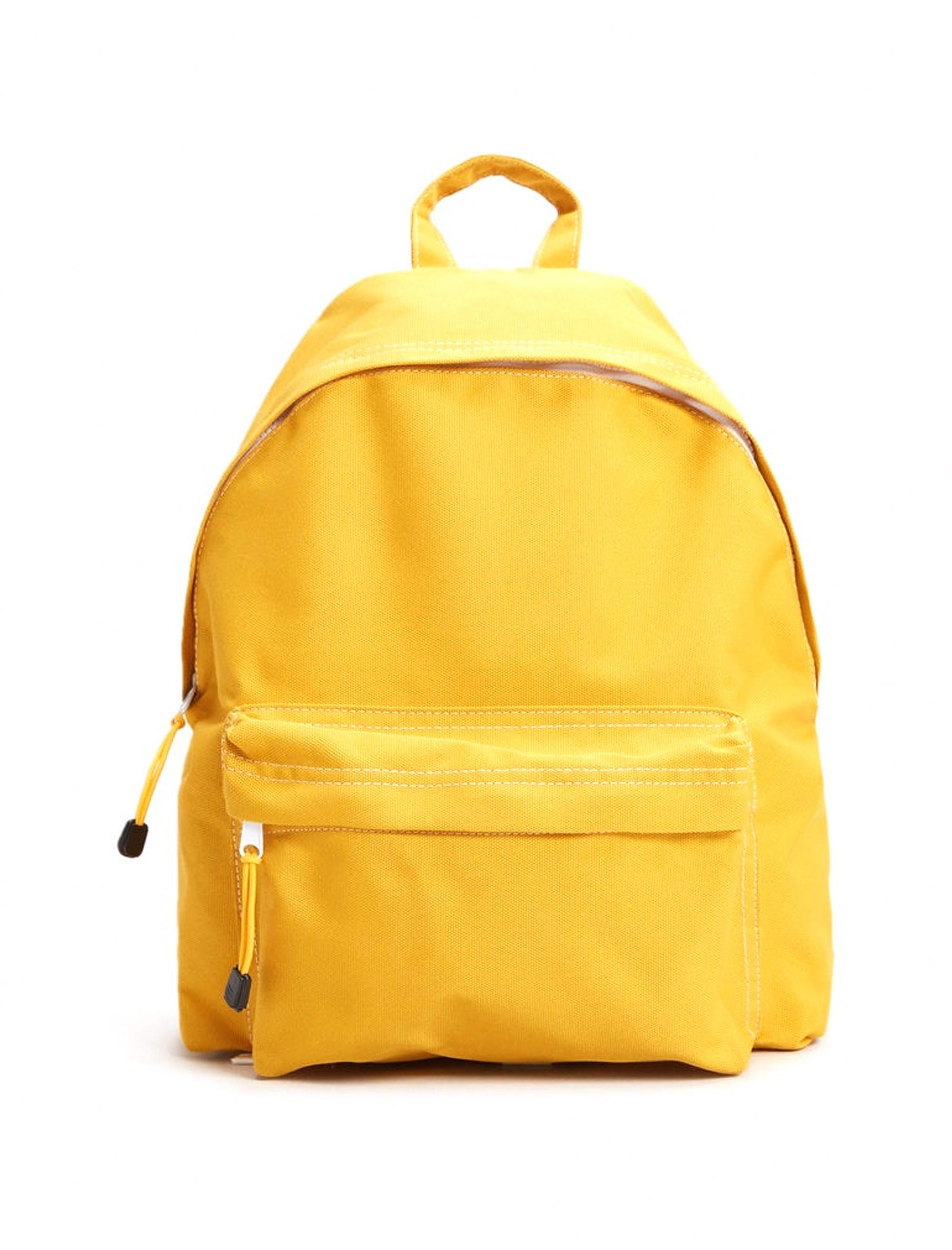 کوله پشتی روزمره مردانه - زرد - 1
