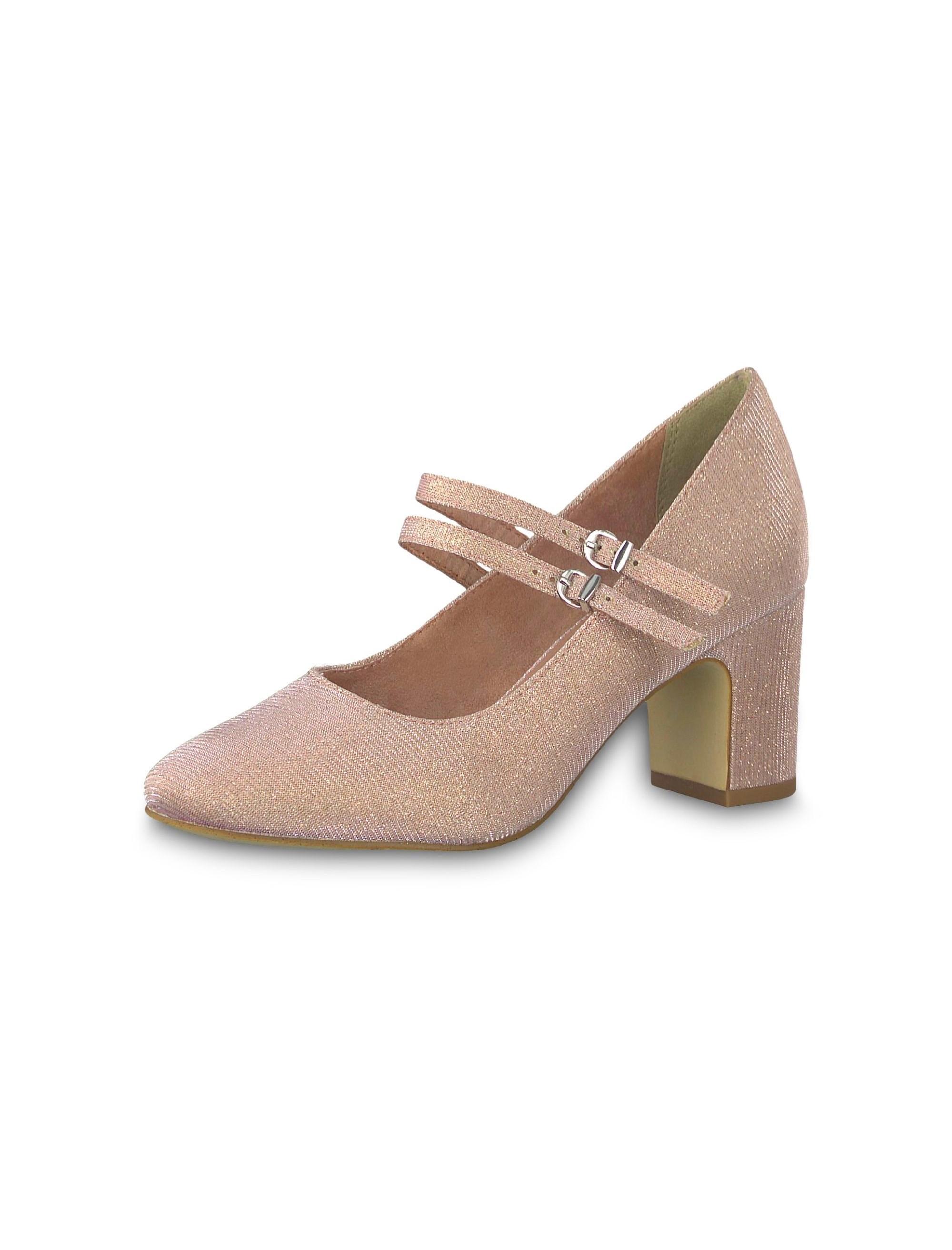 کفش پاشنه بلند زنانه MATTEO - صورتي - 4
