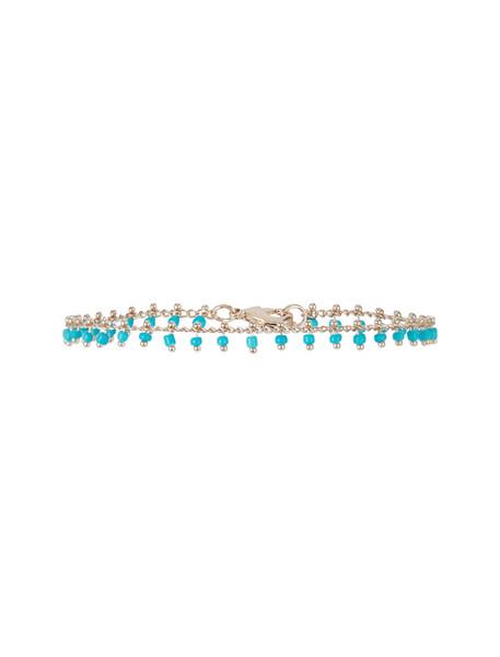دستبند قفلدار زنانه  Delicate Turquoise Drops - اکسسورایز
