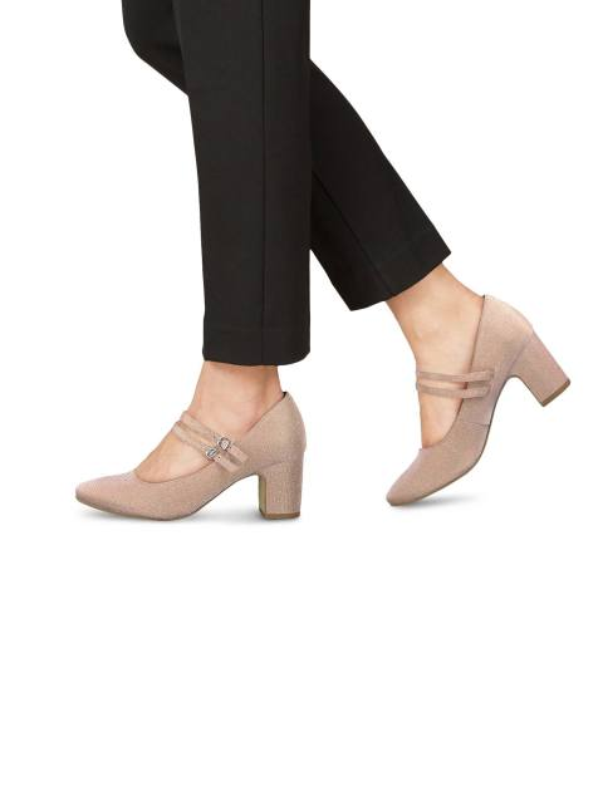 کفش پاشنه بلند زنانه MATTEO - صورتي - 5