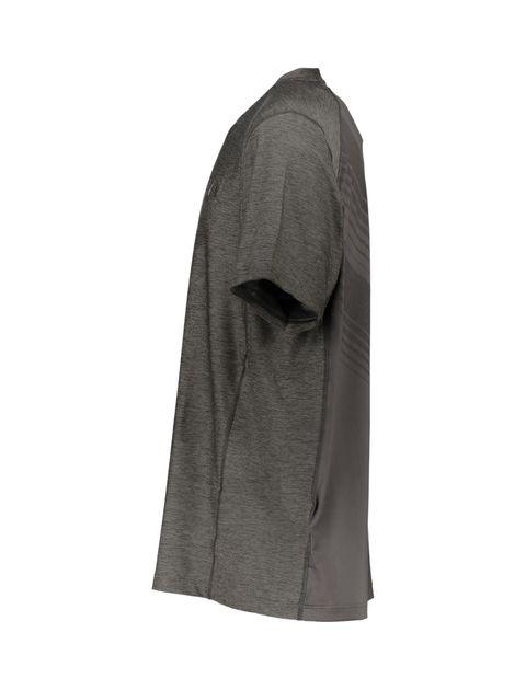 تی شرت ورزشی آستین کوتاه مردانه - طوسي - 4