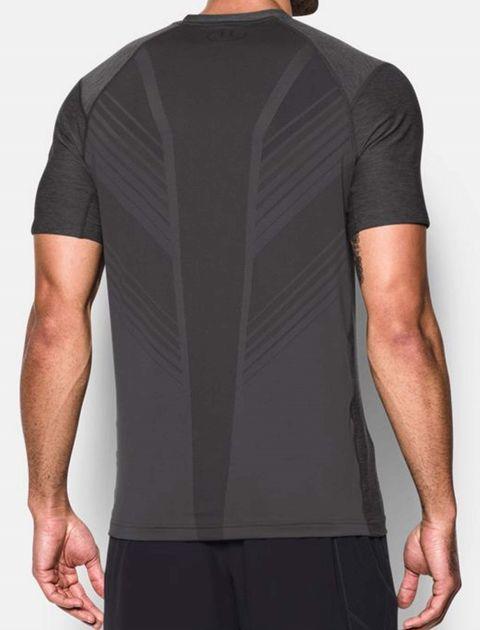 تی شرت ورزشی آستین کوتاه مردانه - طوسي - 5
