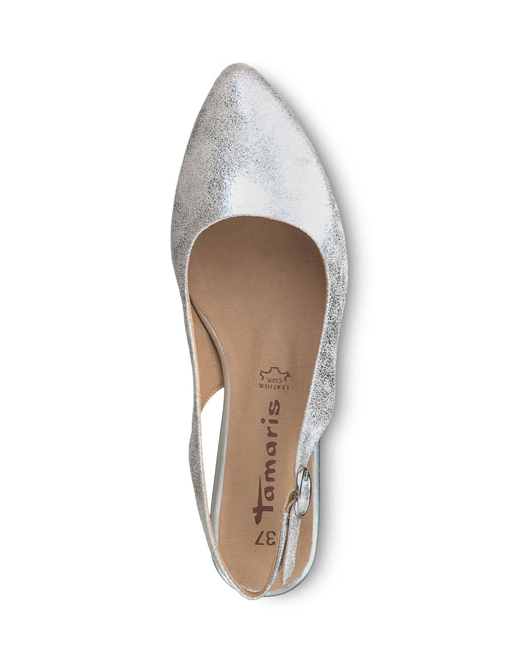 کفش پاشنه دار زنانه Trina - نقره اي - 2