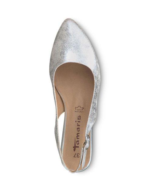 کفش پاشنه دار زنانه Trina - تاماریس - نقره اي - 2