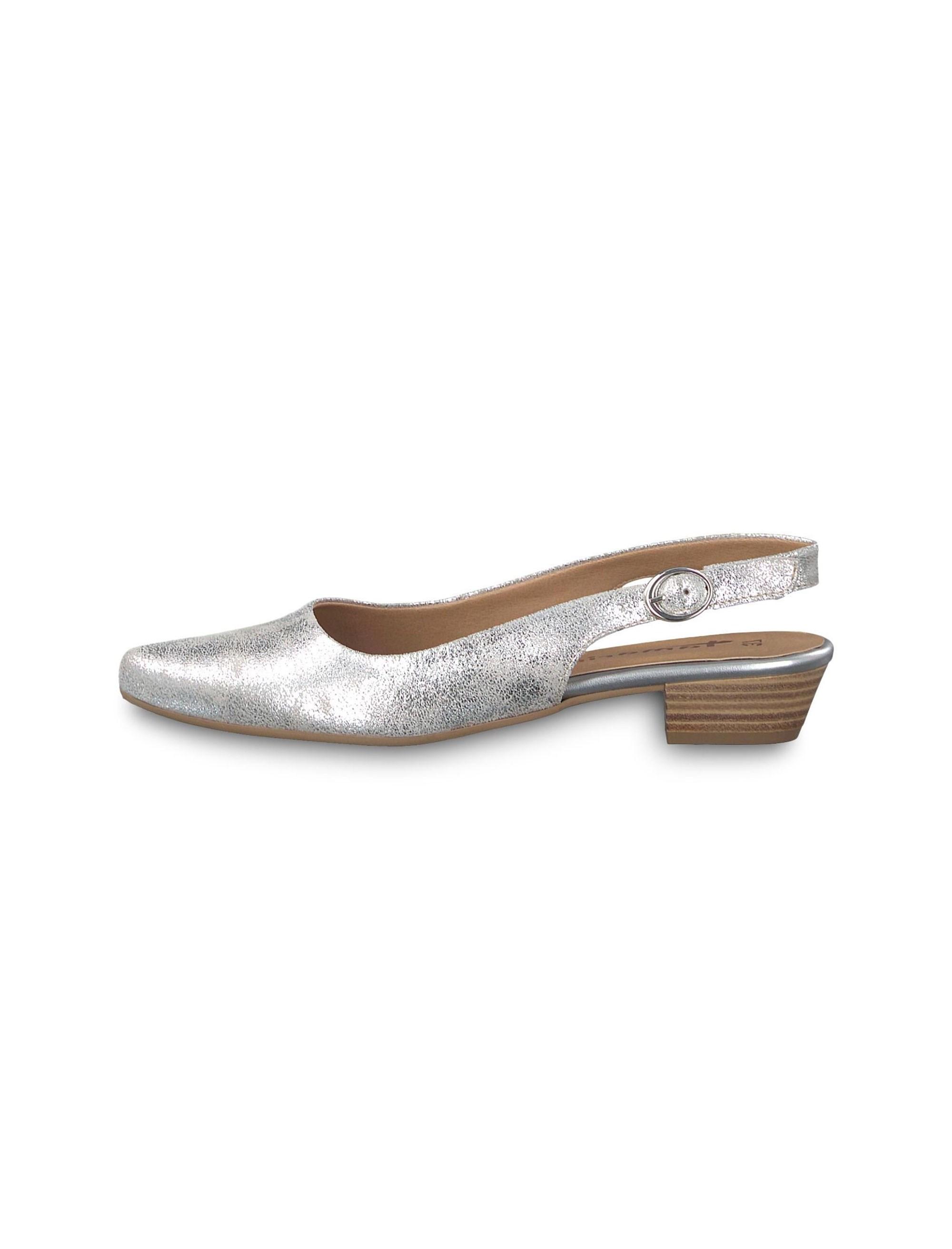 کفش پاشنه دار زنانه Trina - تاماریس - نقره اي - 3