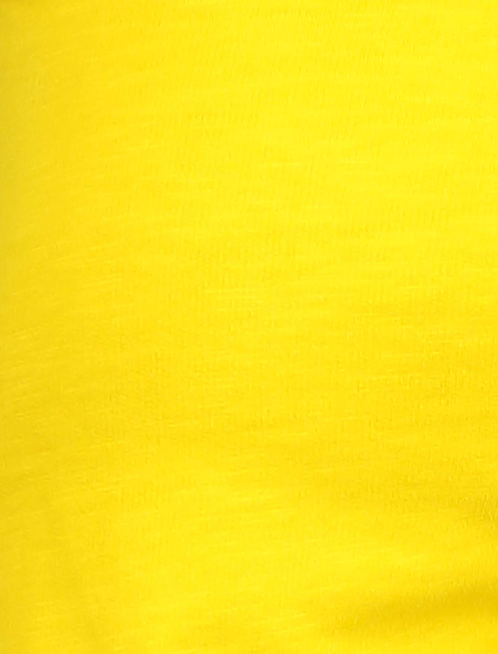 شلوارک نخی ساده دخترانه - یوپیم - زرد - 4